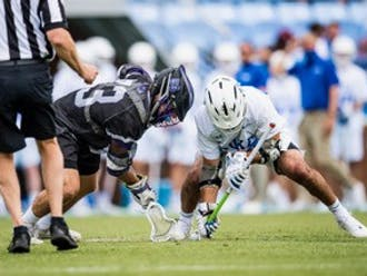 Duke is favored against Loyola, but the Greyhounds are hot and riding a five-game win streak.