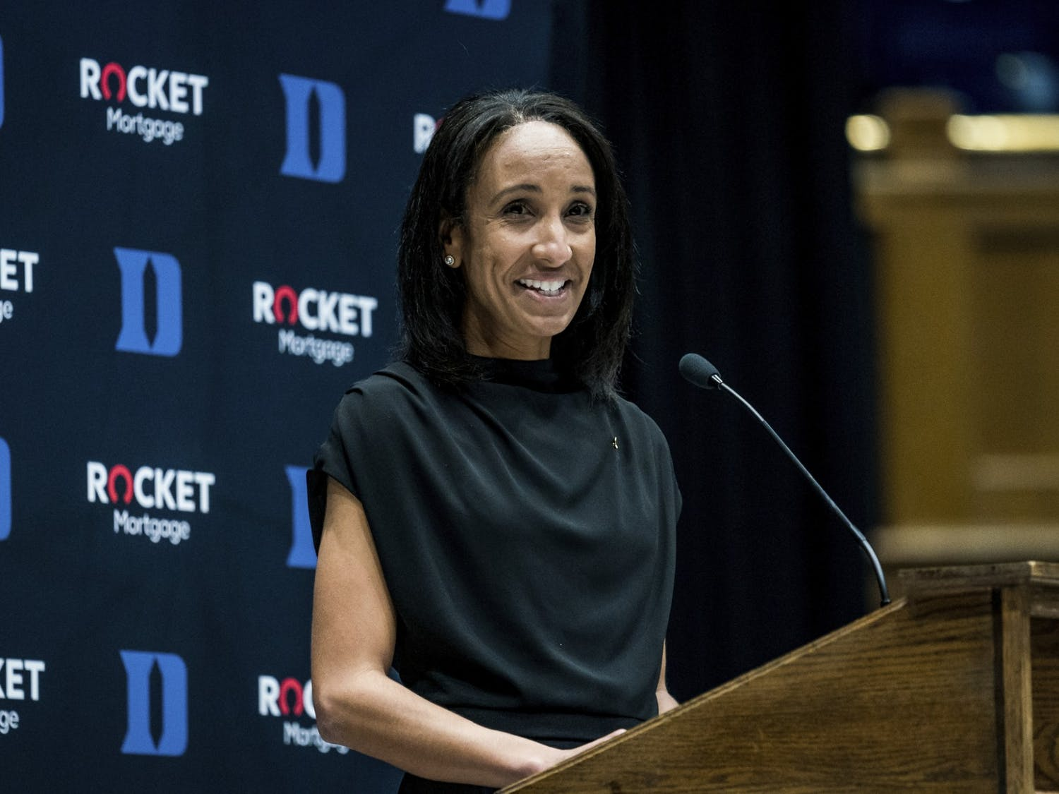 Nina King's introductory press conference was Friday afternoon in Cameron Indoor Stadium.