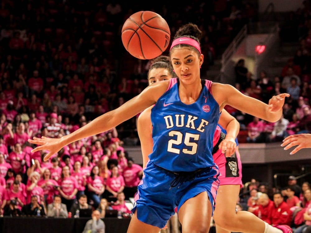 Could senior center Jade Williams emerge as Duke's MVP this season?