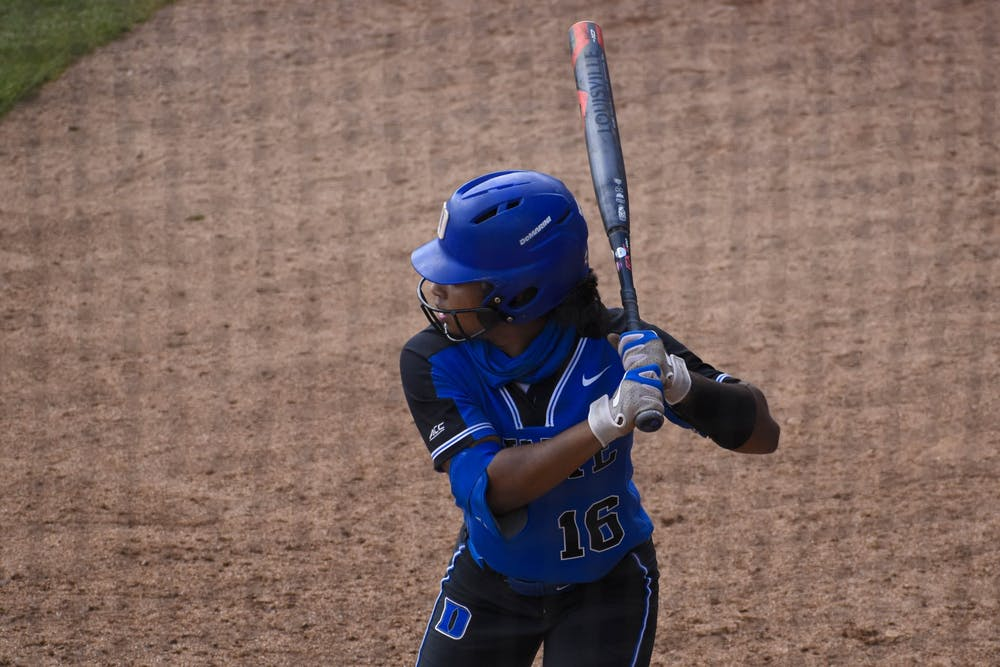 <p>Deja Davis went 7-for-12 on the weekend, continuing what has been an impressive season so far for the junior infielder.</p>