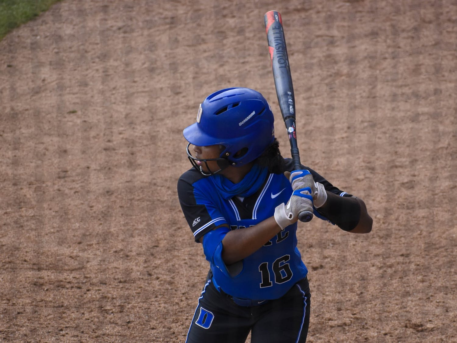 Deja Davis went 7-for-12 on the weekend, continuing what has been an impressive season so far for the junior infielder.