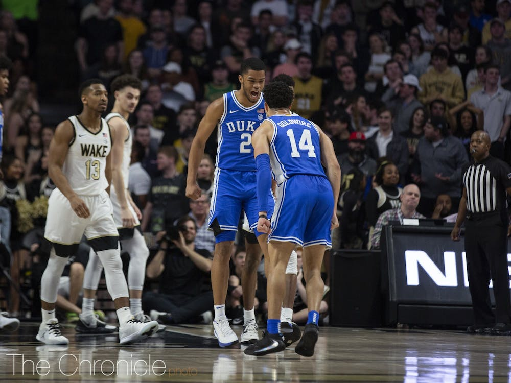 <p>With just three games left in the regular season, things need to click fast for the Blue Devils.</p>