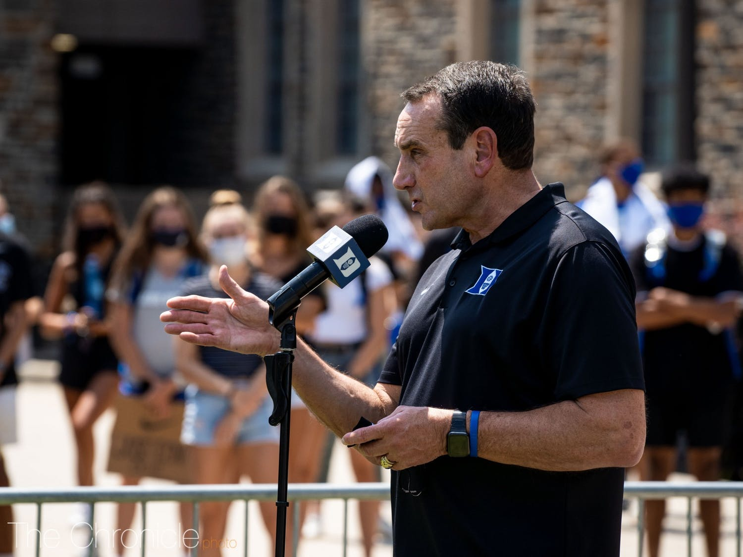 Coach K is a leader in the college basketball community and thus gave the expanded project legs.