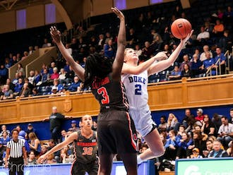 Redshirt junior Haley Gorecki put up a double double in one of her best games of the season against Syracuse.