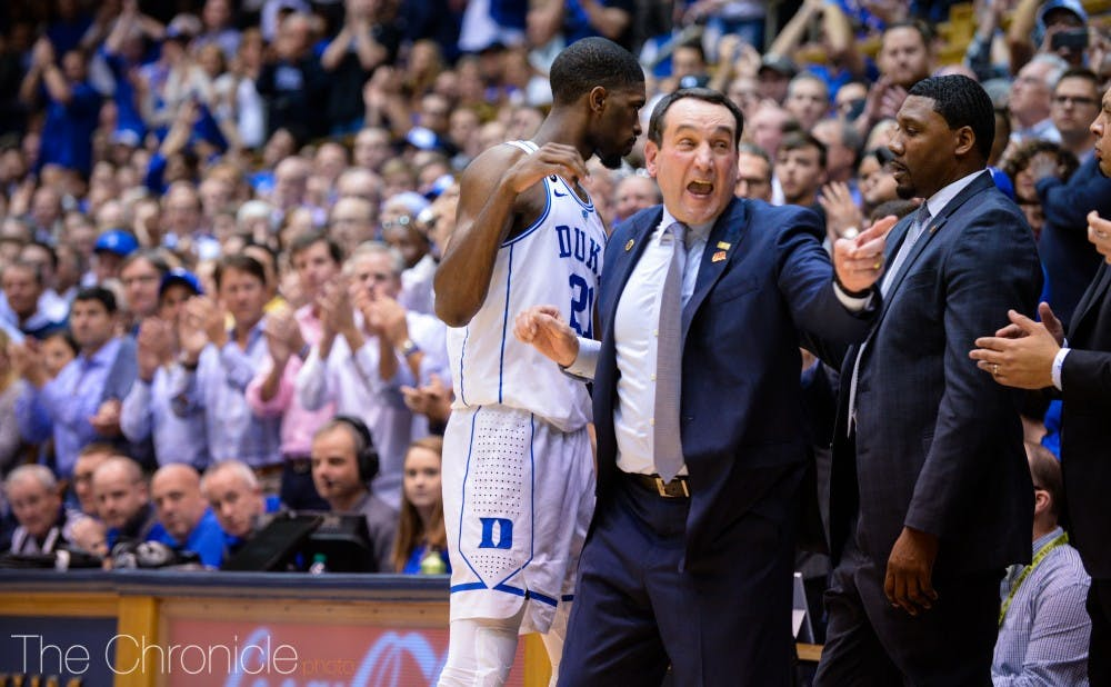 <p>Mike Krzyzewski has signed the top player in the class for the third straight year.</p>