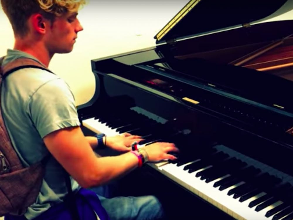 Sophomore Lucas Tishler uploads piano covers to his YouTube page, where he has garnered over 8,000 subscribers.