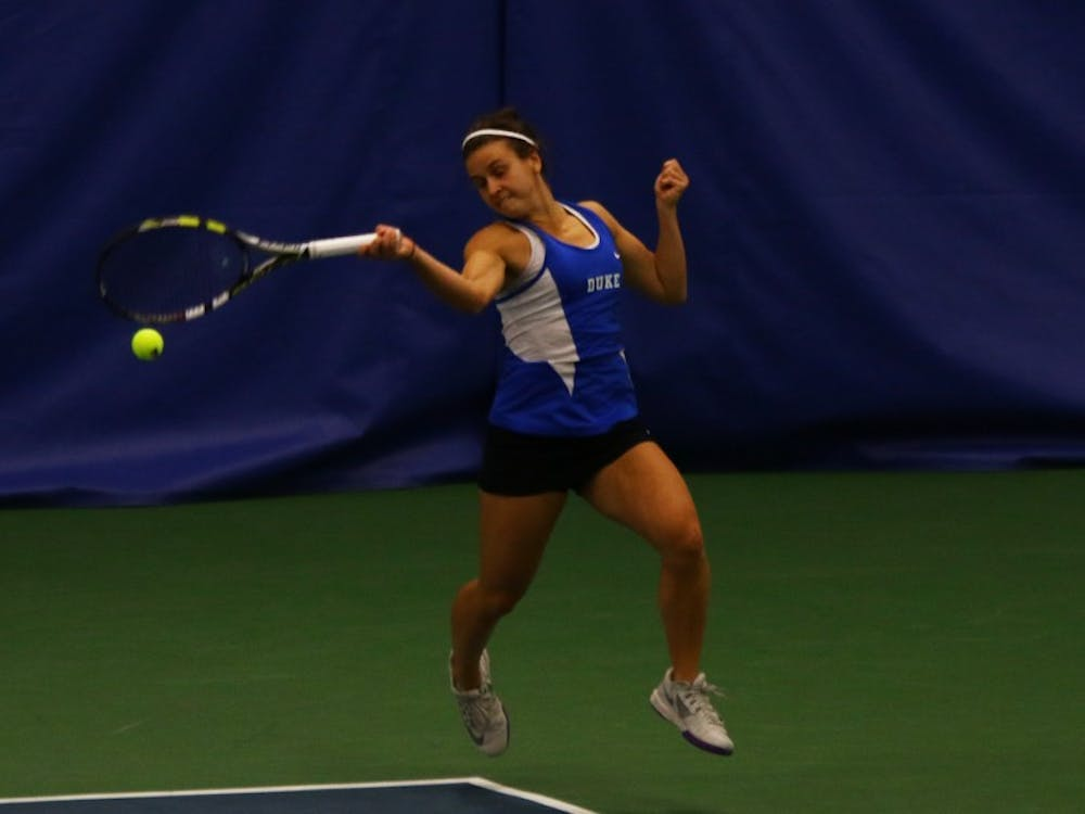 Samantha Harris and the Blue Devils will open ACC play this weekend with tough opponents in Florida State and Miami.