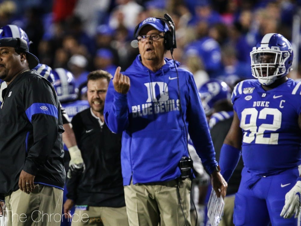 David Cutcliffe and the Blue Devils are nearing the start of spring practices.