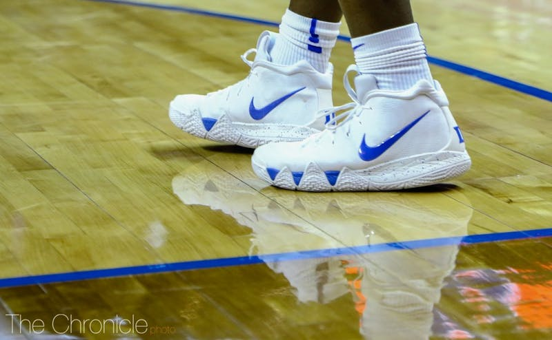 Zion Williamson sported some new kicks against Syracuse.