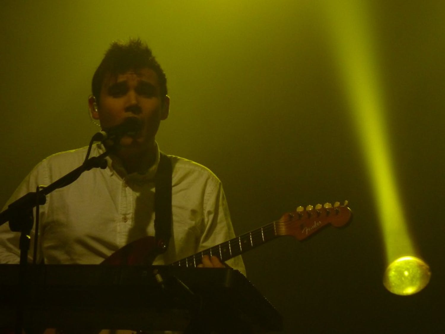 Pictured with Vampire Weekend in 2010, Rostam Batmanglij released his first solo album Friday.