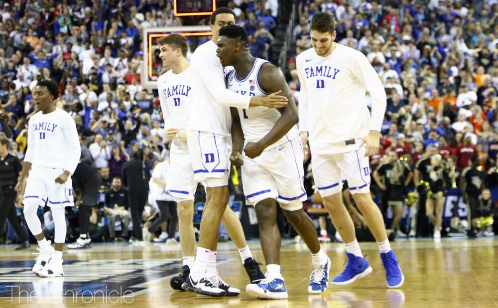 <p>Zion Williamson and Duke barely pulled out the win against UCF.</p>
