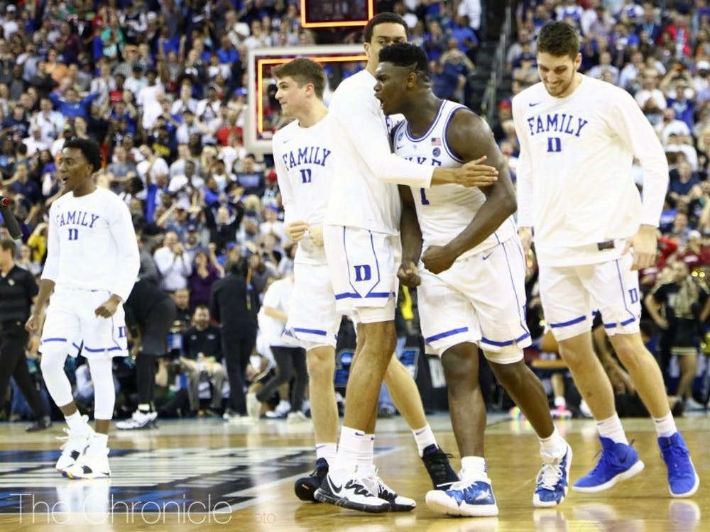 Zion Williamson and Duke barely pulled out the win against UCF.