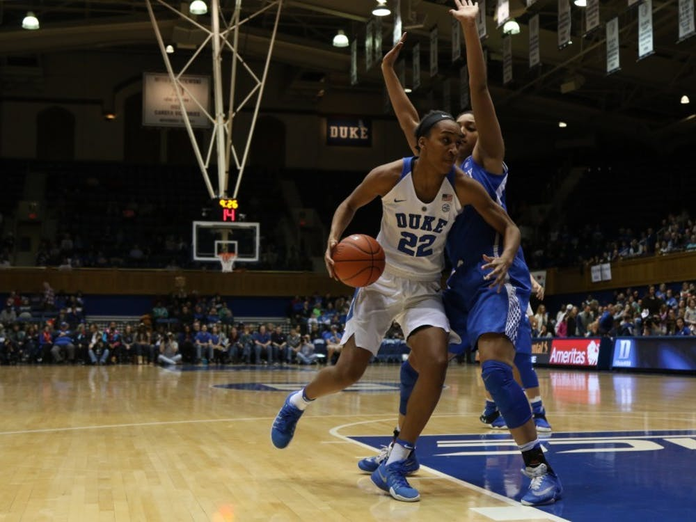 Chidom ranks sixth on Duke's all-time charts in both field goal percentage and blocks.
