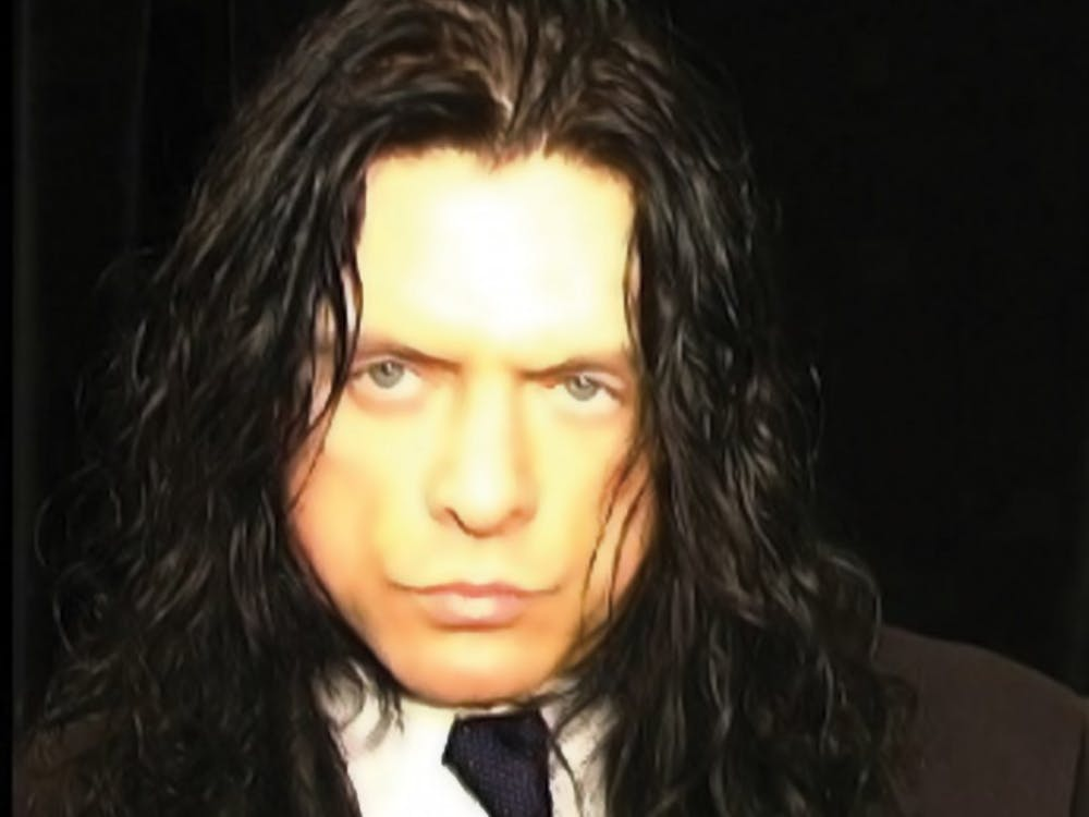 "The real Tommy Wiseau, whose bizarre cult classic ""The Room"" is the subject of James Franco's ""The Disaster Artist."""