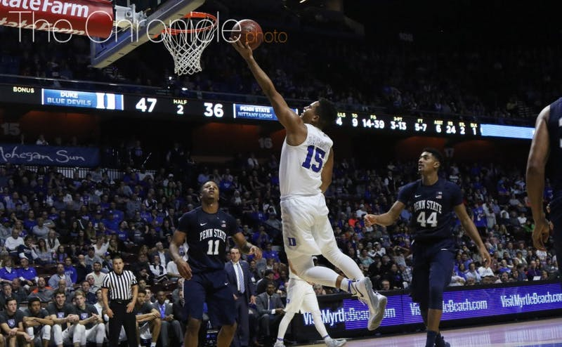Freshman Frank Jackson led Duke in scoring off the bench for the third time in four games.