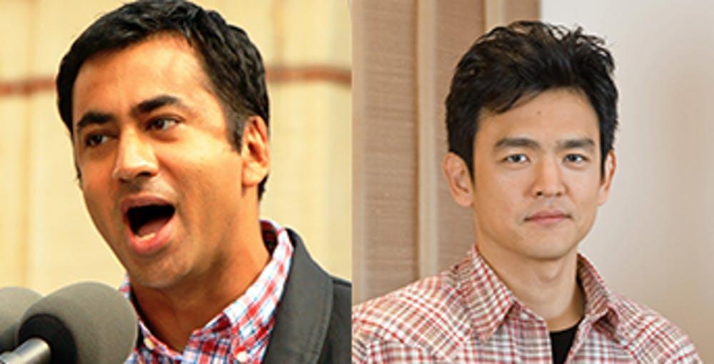 """<p>Kal Penn and John Cho, the stars of """"Harold and Kumar go to White Castle,"""" visited North Carolina to campaign for Hillary Clinton.&nbsp;</p>"""