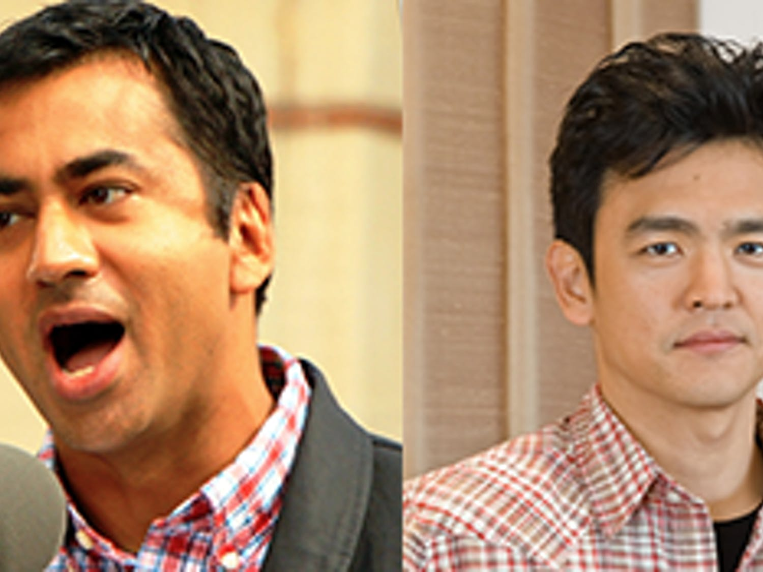 "Kal Penn and John Cho, the stars of ""Harold and Kumar go to White Castle,"" visited North Carolina to campaign for Hillary Clinton."