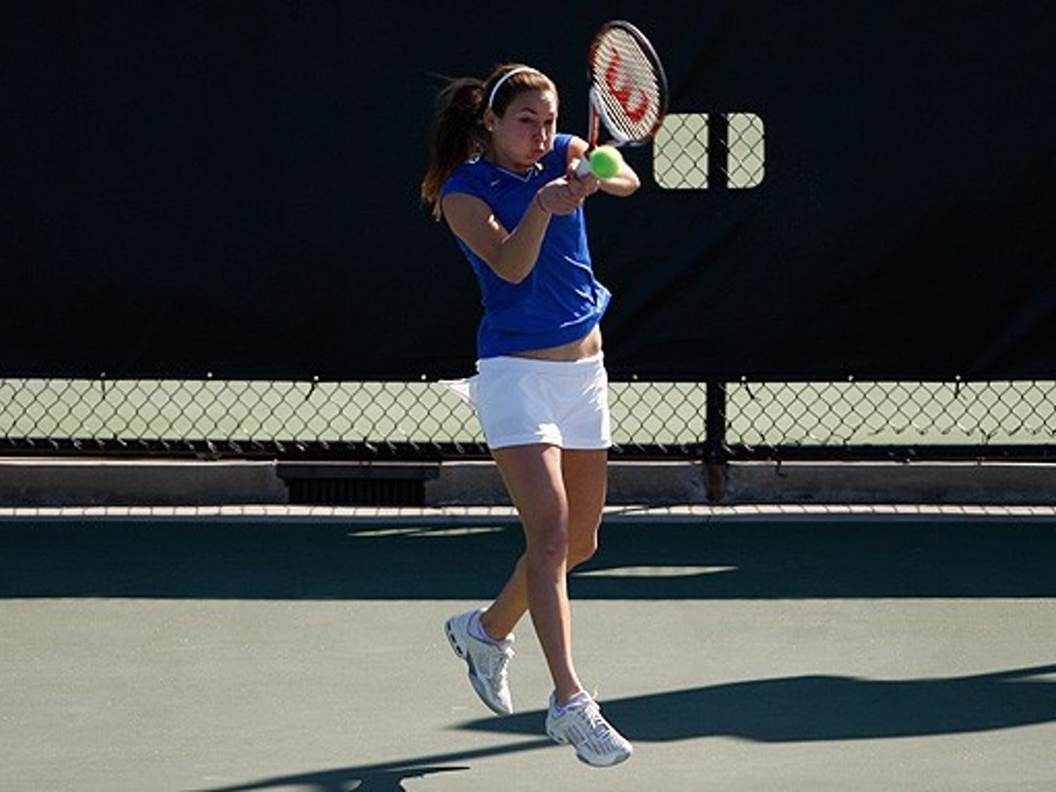 Duke was no match for the No. 9 Gators, who recorded their 74th consecutive regular season home victory over the No. 6 Blue Devils Sunday, 7-0.