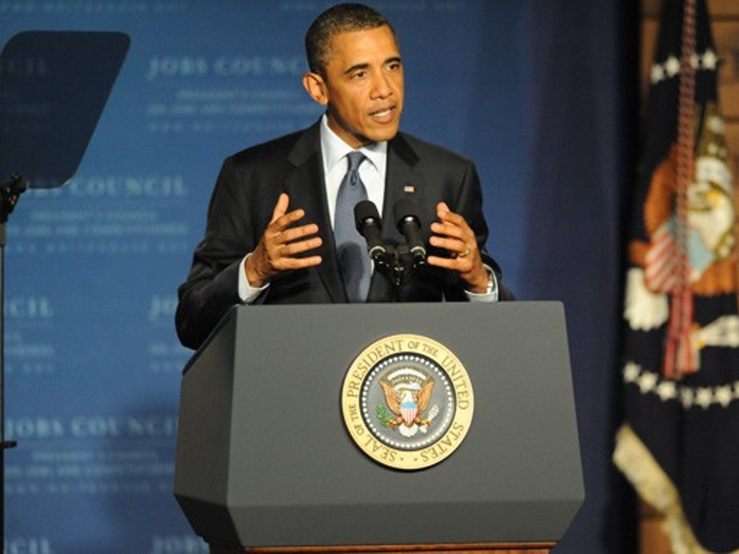Speaking before an audience at Cree, Inc., President Barack Obama outlined ideas to stimulate economic growth.