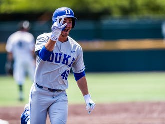 RJ Schreck hit three home runs in Duke's 14-6 rout of Wright State.