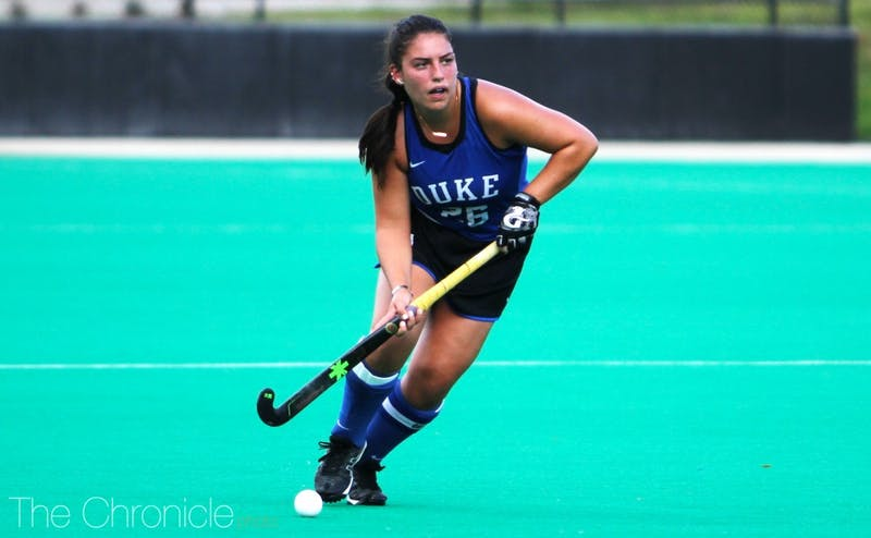Alyssa Chillano will lead Duke into the NCAA tournament for the final time of her career.