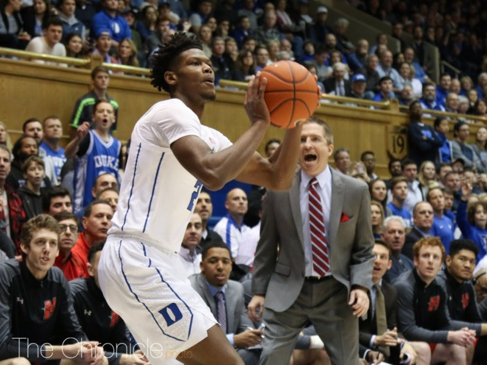 If Cam Reddish gets more open looks in transition, it will open up the floor against Notre Dame.