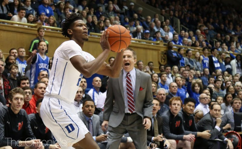 Cam Reddish needs to get into an offensive rhythm against Yale on Saturday night.