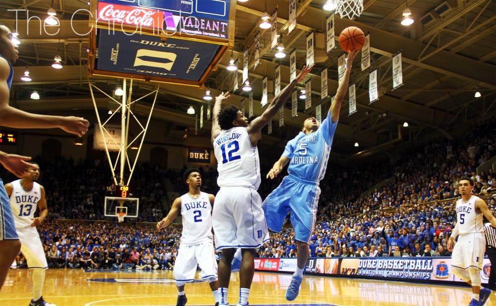 <p>Marcus Paige and No. 2 North Carolina were the only top-8 team to survive last week unscathed in what has become a season of nightly upsets in college basketball.</p>
