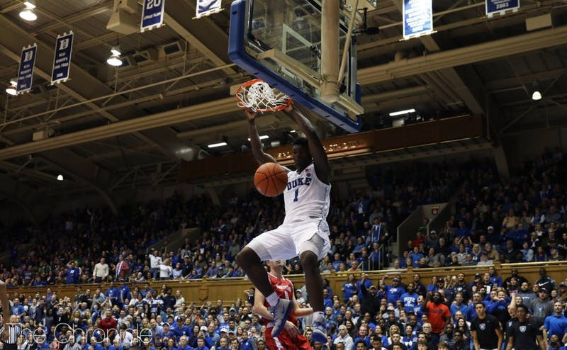 The Blue Devils turned on the jets in the second half against Hartford.