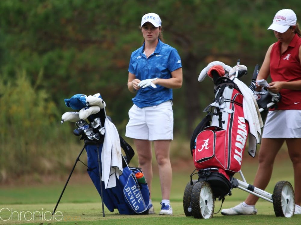 Leona Maguire tied for first individually last year at the Palos Verdes Golf Club.
