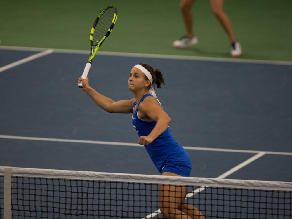 Samantha Harris withdrew from the NCAA individuals doubles competition.