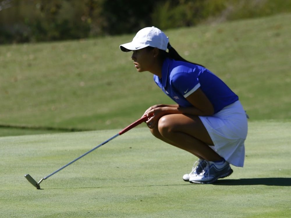 Sandy Choi and the Blue Devils could not overcome Friday's ninth-placestroke-play showing, but went 2-1 in match play Saturday and Sunday to close the regular season.