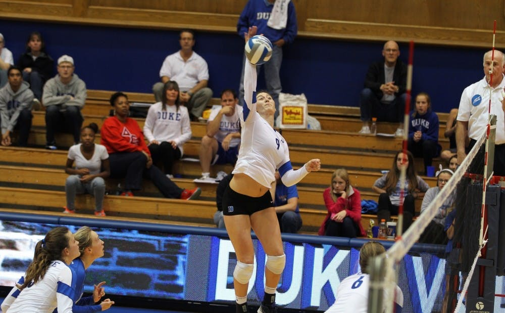 <p>Two days after posting 23 kills against Wake Forest, Emily Sklar will lead the Blue Devils into their second ACC contest of the season Friday against Virginia.</p>