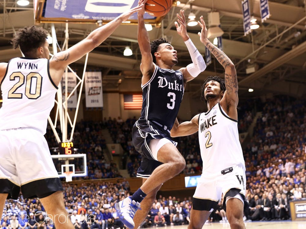 The Blue Devils defeated Wake Forest 90-59 at home in Cameron on Saturday Night. Check out our best photos from Sujal Manohar and Eric Wei.