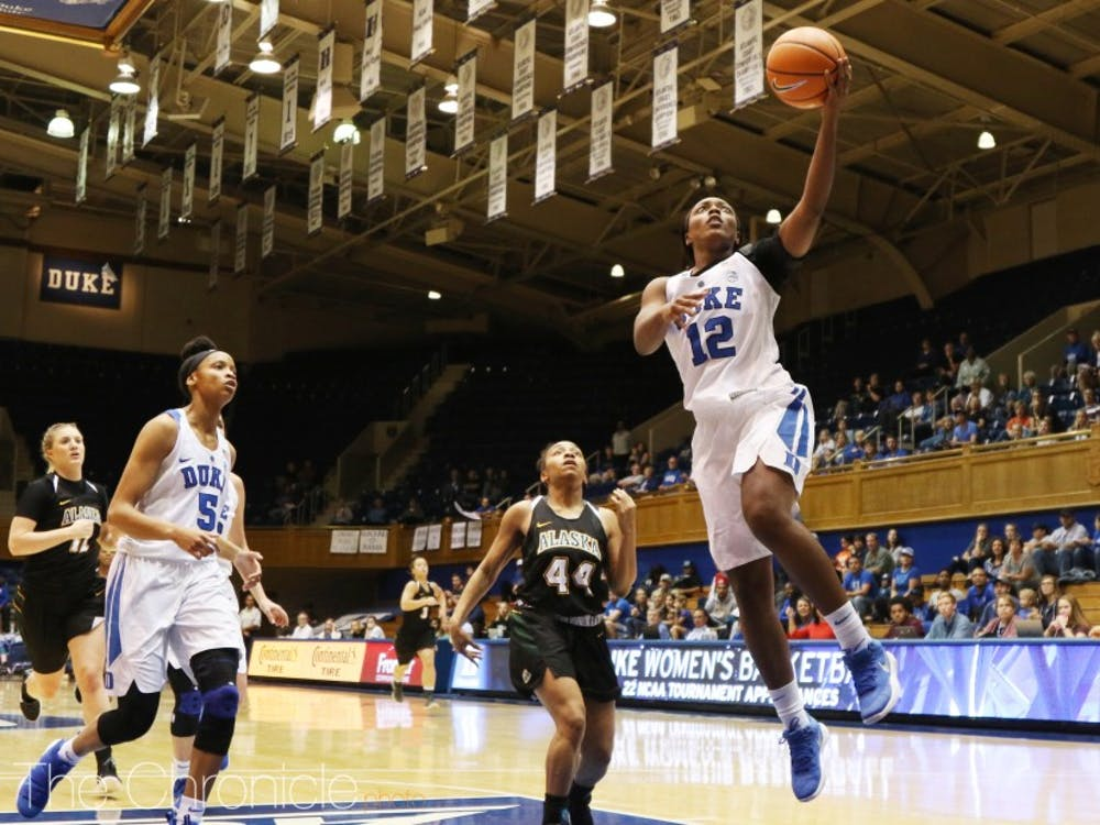 Mikayla Boykin sparked the Blue Devils in her return Thursday.