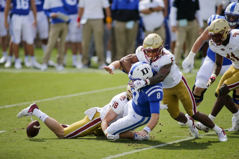 Duke will have to avoid turning the ball over if it wants to turn its season around Saturday.