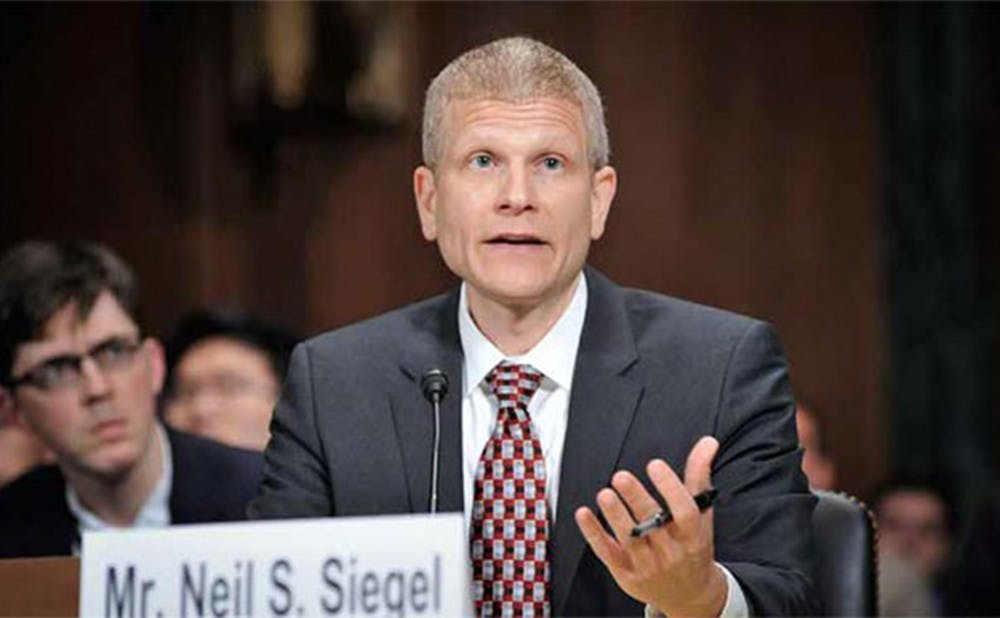 <p>Neil Siegel, professor of law and political science, noted that Supreme Court nominee Merrick Garland's age and centrist views are positives for Republicans, though his confirmation is still unlikely.</p>