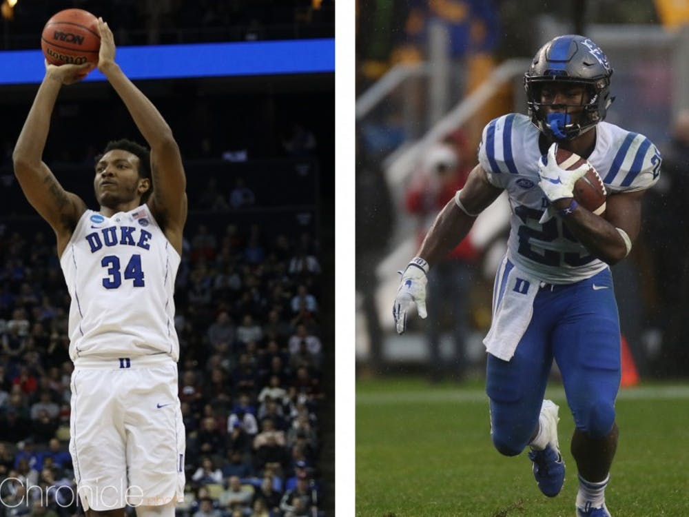 Deon Jackson and Wendell Carter Jr. were friends in Pace Academy's Class of 2017.