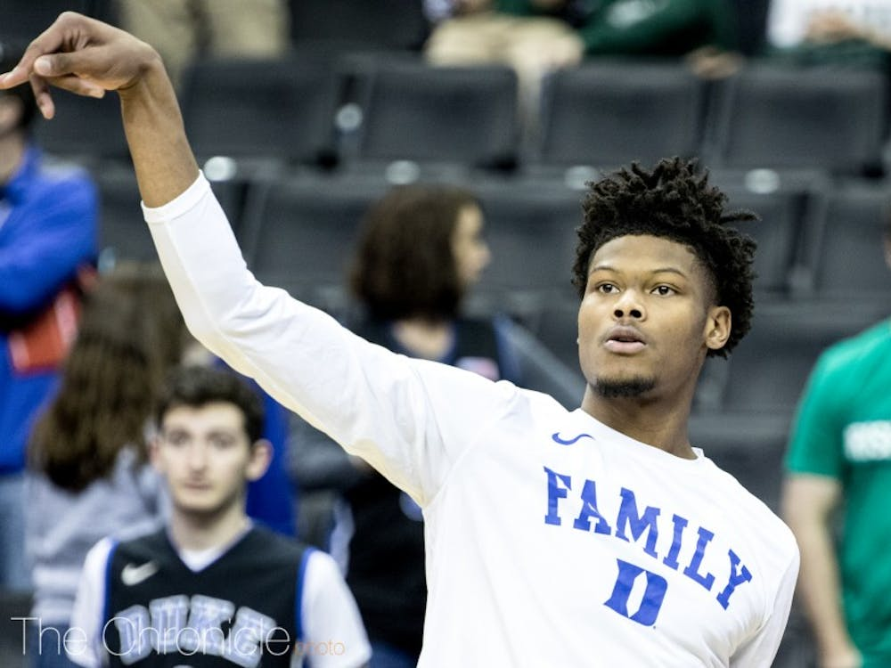 Cam Reddish will add to the lengthy list of Blue Devil one-and-dones after officially declaring for the 2019 NBA Draft