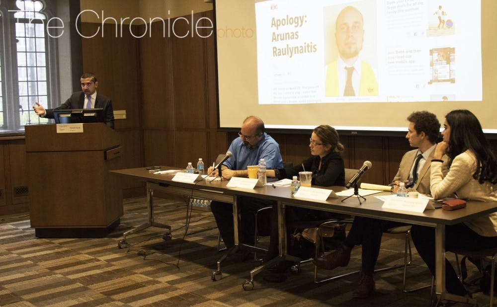 <p>During the event, panelists said that more in-depth journalism about the everyday lives of Muslims is necessary to combat negative perceptions of Islam in the media.&nbsp;</p>