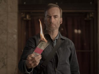 Bob Odenkirk as Hutch Mansell in Nobody, directed by Ilya Naishuller.