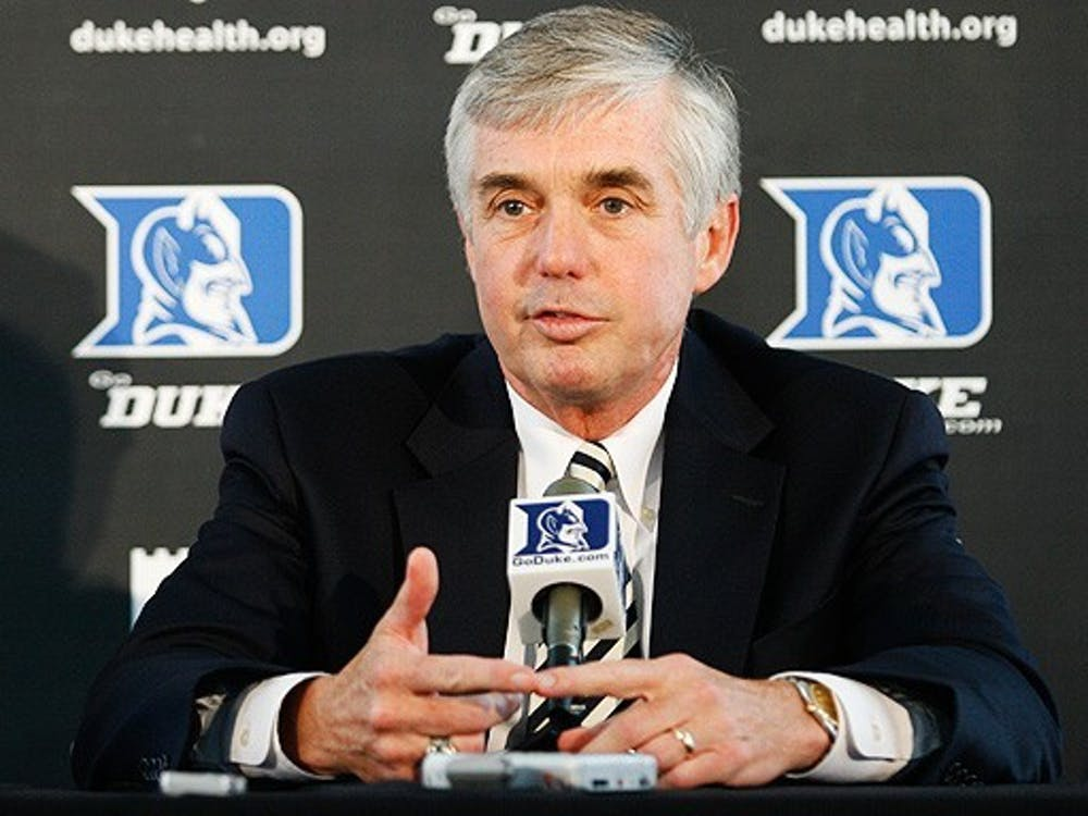 Coronavirus responses are bound to shake things up for athletic director Kevin White and many of Duke's varsity sports teams.