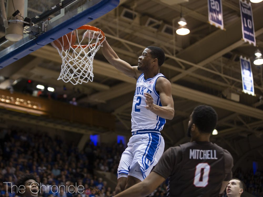 Cassius Stanley's athleticism provided a spark to a lethargic Blue Devil squad Tuesday.