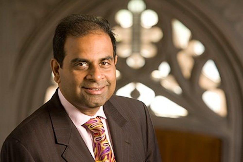 <p>Srinivas Aravamudan was a professor of English and former dean of the humanities.</p>