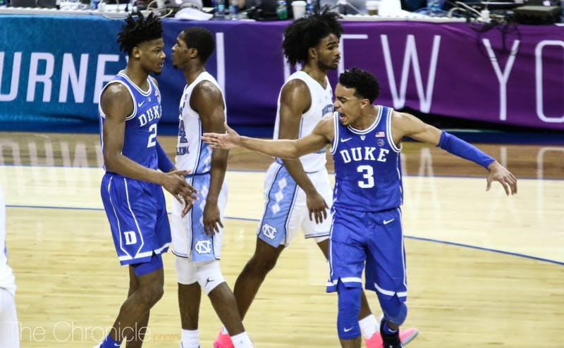 Duke defeated North Carolina in the this season's third installment of the rivalry. Will there be a fourth?
