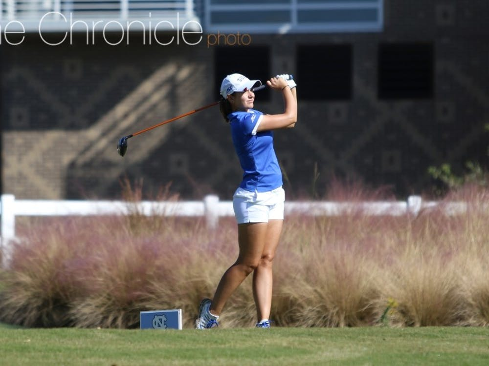 Ana Belac posted the first top-five finish of her career to pace the Blue Devils at regionals.