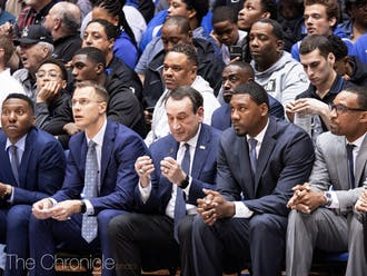 Duke will have nearly two weeks off between its upcoming game against Notre Dame and its matchup with Pittsburgh Dec. 29.