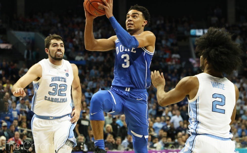 Tre Jones guided the Blue Devils all season, and will look to become a more reliable shooter during his sophomore year.