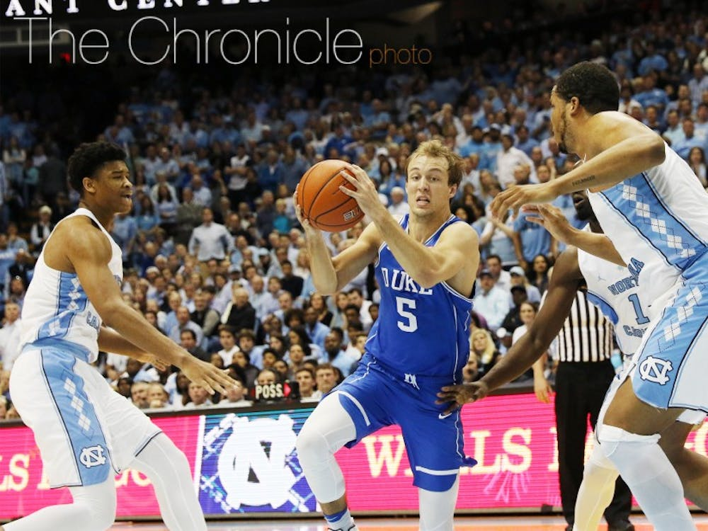 Luke Kennard was the only ACC player to unanimously earn first-team all-conference honors.