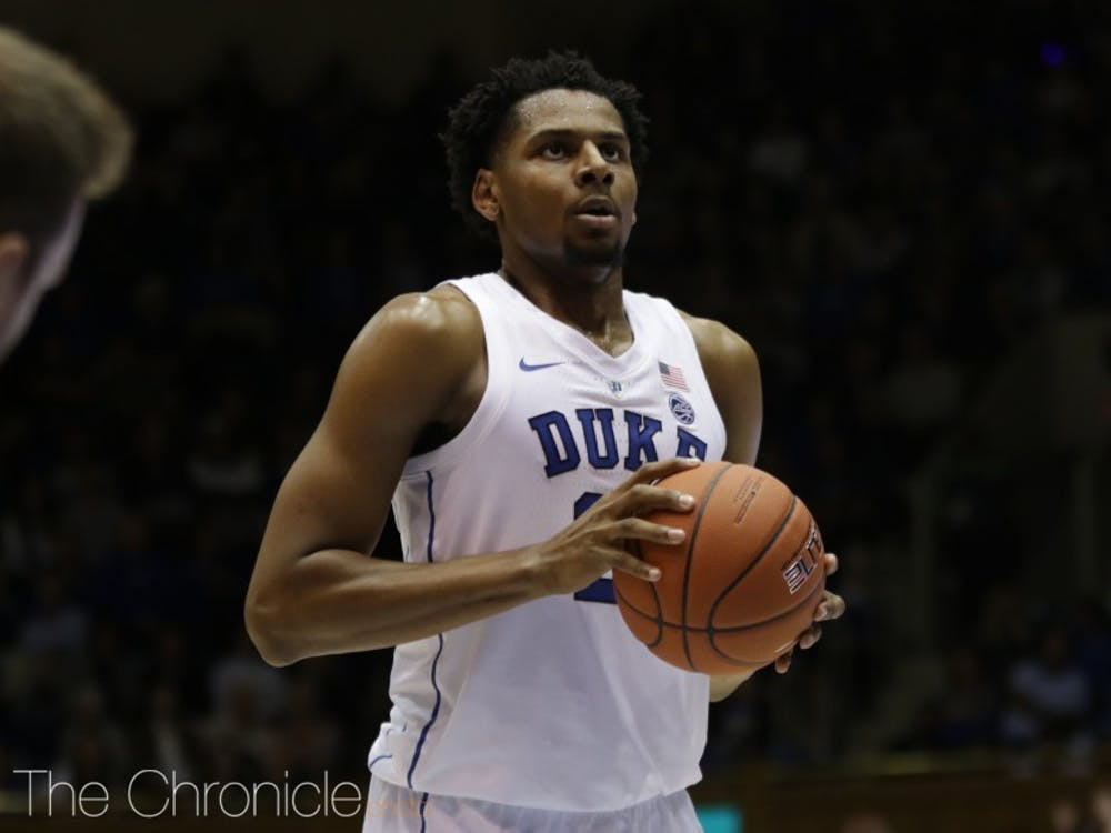 A five-star recruit out of high school, Marques Bolden played three seasons at Duke.